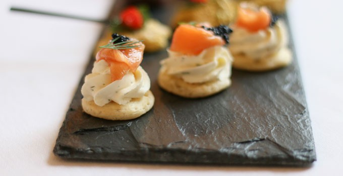 How to do wedding canapés
