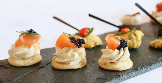 AK Weddings Canapes